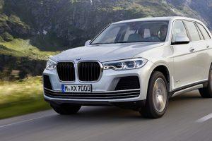 La BMW X7 sera présentée au Salon de Francfort