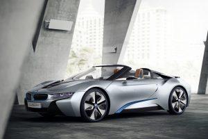 Comment ouvrir le capot du BMW i8 ?