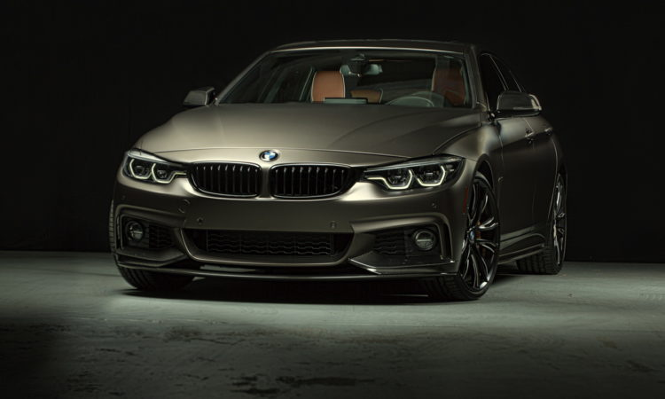 une bmw 440i gran coup pr par e m performance au sema 2017 bmw. Black Bedroom Furniture Sets. Home Design Ideas