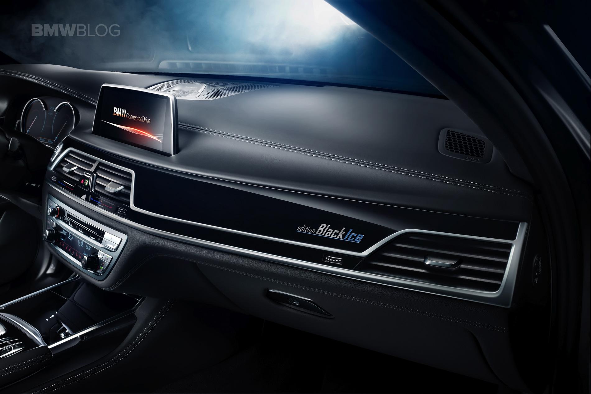 BMW Série 7 Black Ice Edition - Intérieur