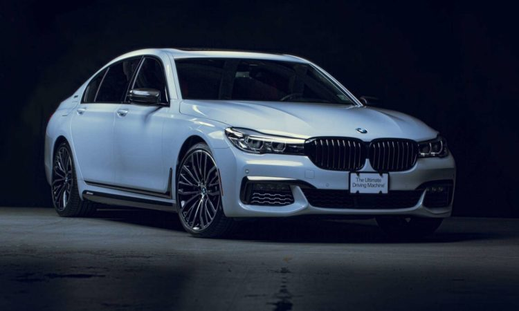 VIDEO : une nouvelle BMW 740e M Performance au SEMA 2017