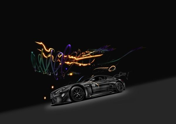 BMW M6 GT3 Art Car dessinée par Cao Fei