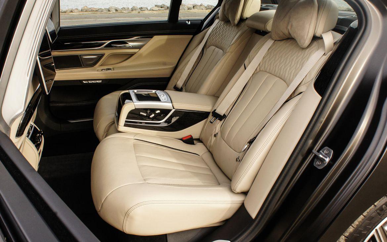 BMW M760i - intérieur