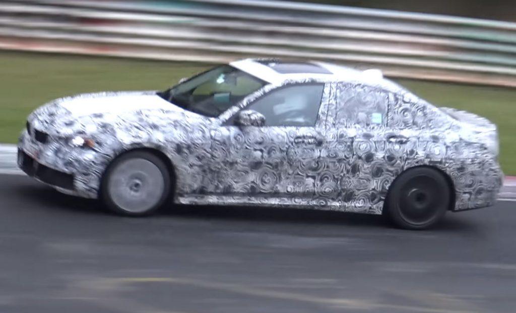 Vidéo : La BMW G20 M340i espionnée sur le circuit de Nürburgring
