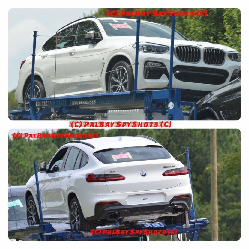 Rendu photo très probable du prochain BMW X4 M40i