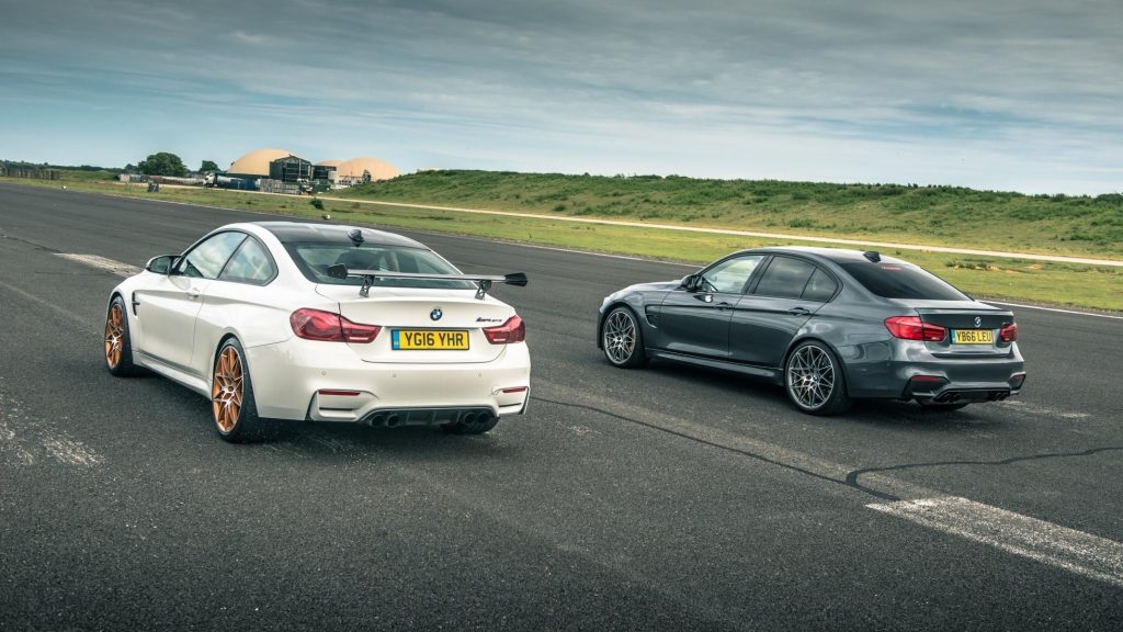 BMW M3 and BMW M4 GTS vs the clock
