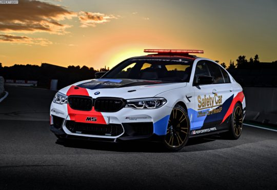 Nouvelle galerie photos de la BMW M5 Safety Car MotoGP 2018