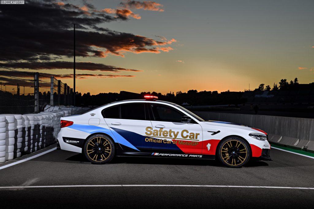MW M5 Safety Car MotoGP 2018