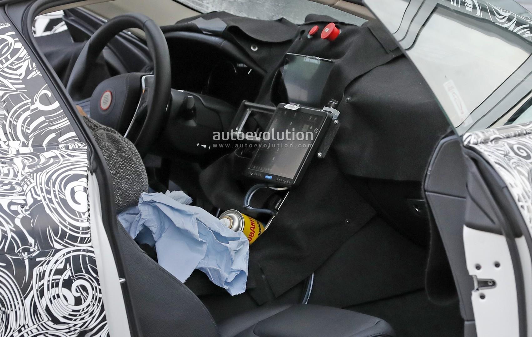 Premières photos de l'intérieur de la BMW M8