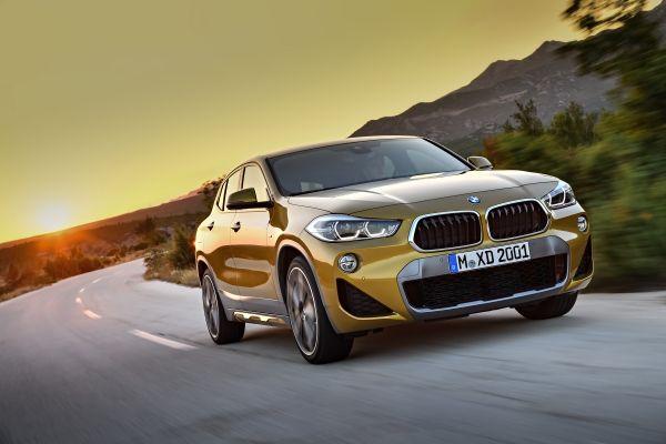 Le BMW X2 sera disponible au printemps 2018