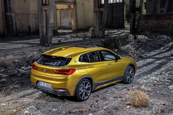 Le BMW X2 mieux que le BMW X1