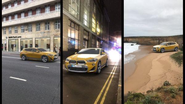 Essayez votre BMW X2 en 3D avant de l'acheter avec Snapchat