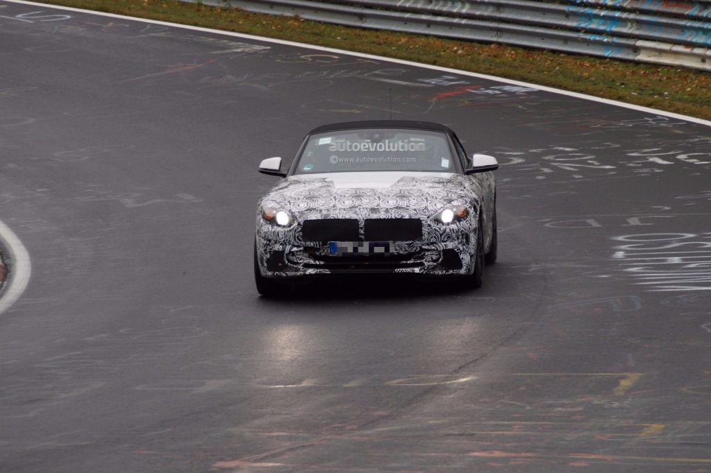 BMW G29 Z4 espionnée à Nürburgring