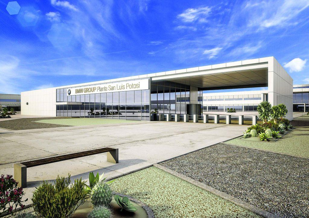 Nouvelle usine verte BMW au Mexique