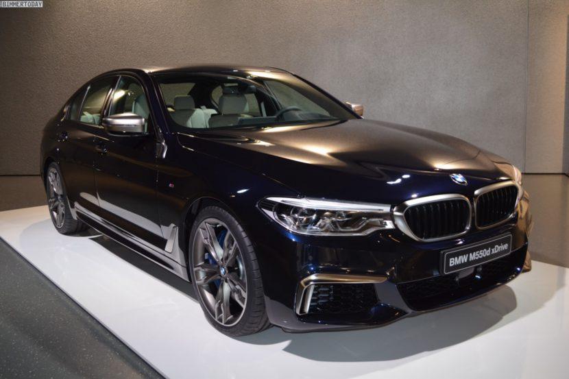 BMW M550d 2017