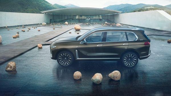 Spyshots : Le BMW X7 2019 en tenue légère