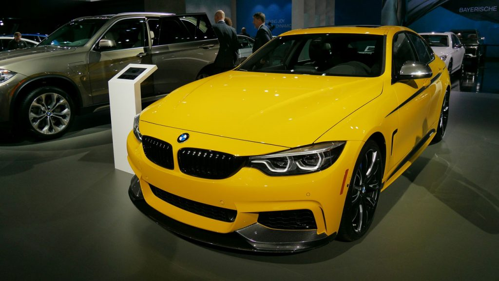 BMW nous offre un monde coloré au L.A. Auto Show 2017