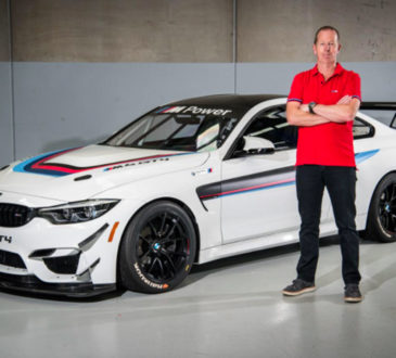 La Team SRM prend possession de sa BMW M4 GT4