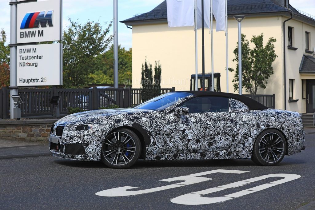 bmw confirme l arriv e de la m8 en 2018 et spyshots de la version cabriolet bmw. Black Bedroom Furniture Sets. Home Design Ideas