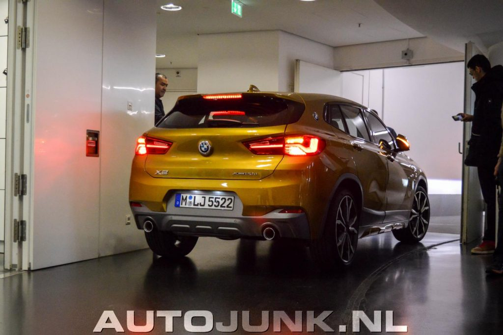 BMW X2 Galvanic Gold